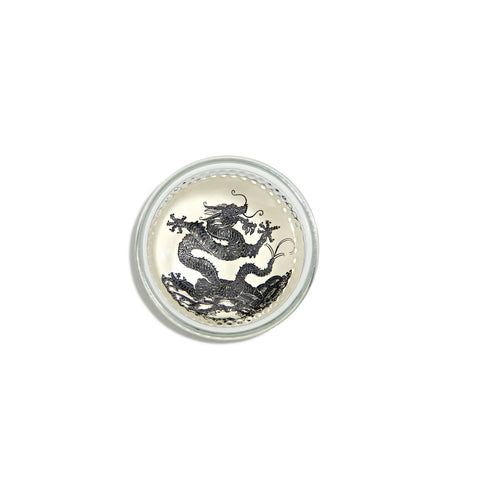 Dragon Black Dome Paperweight