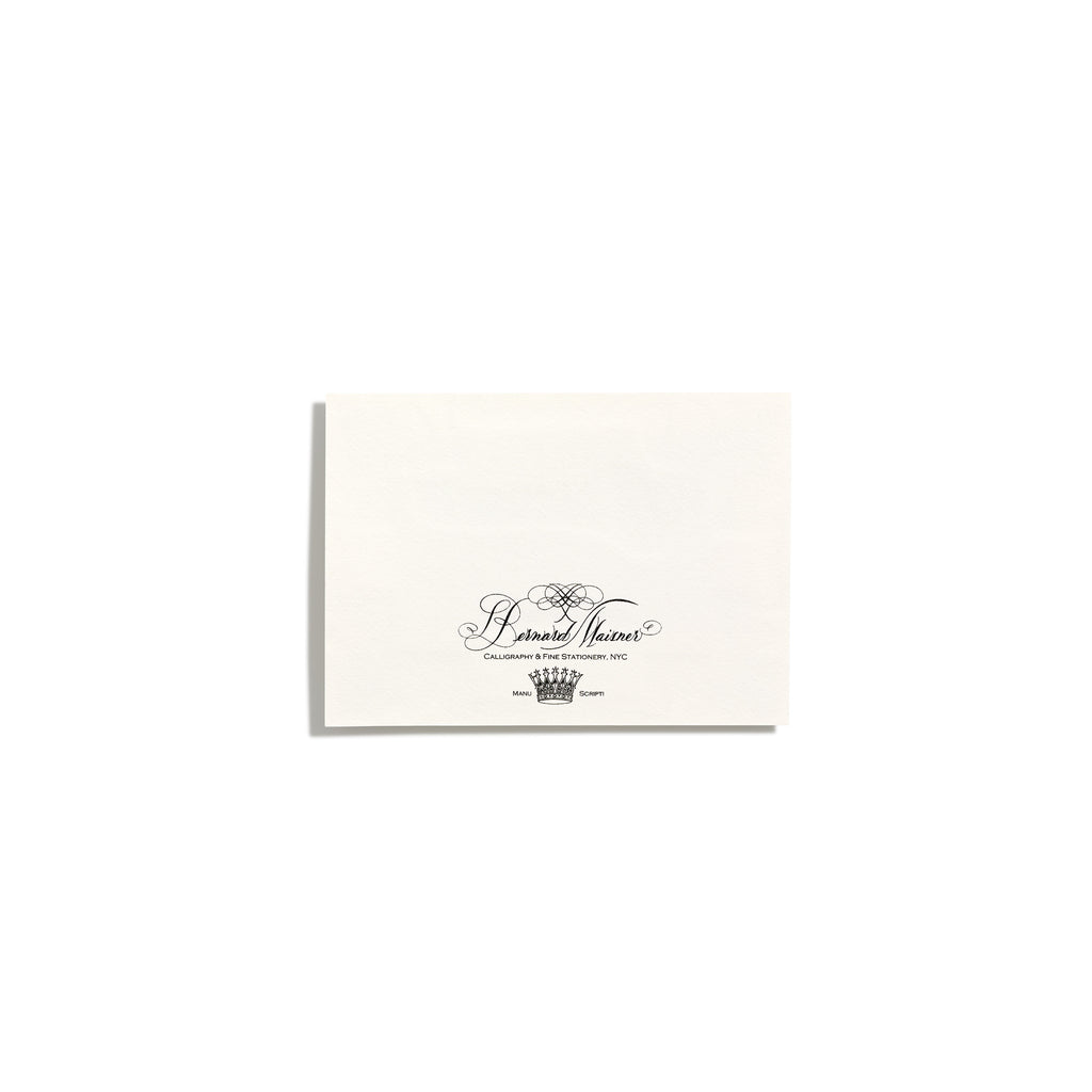 Deluxe White Seating Cards | Set of 10
