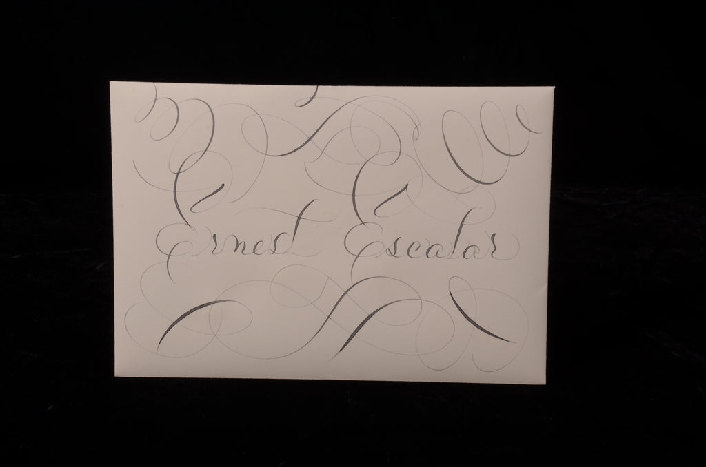 Envelopes & Placecards; title: Small Escort Envelope #2