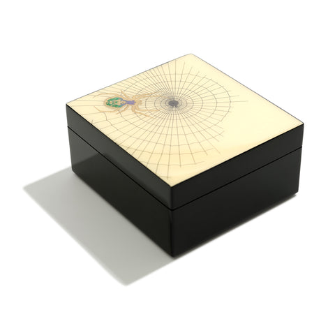 Spider Hand-painted Lacquer Box