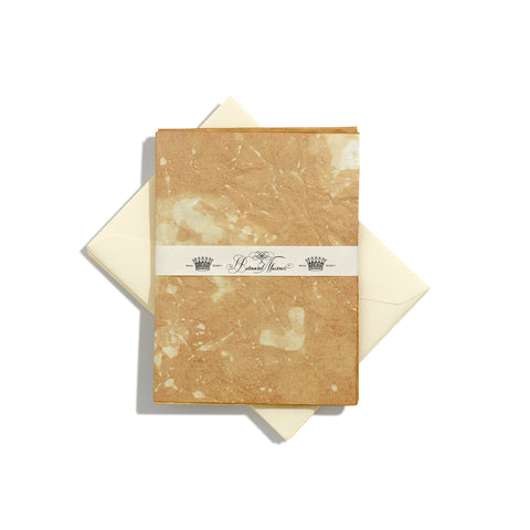 Limited Edition Tea-Stained Large Writing Paper | Set of 8
