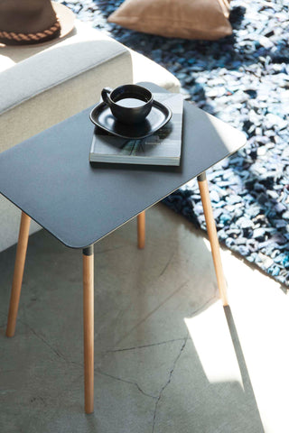 Minimalist Rectangular Side Table by Yamazaki Home