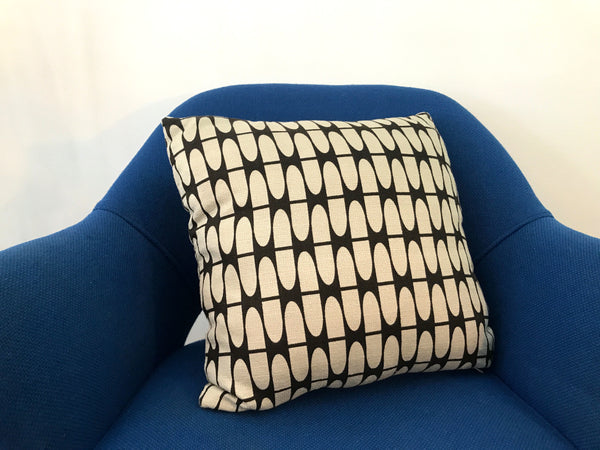 Barkcloth Pillows by Hip Haven