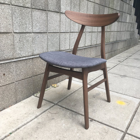 Apollo Walnut-Toned Dining Chair