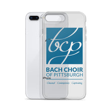 Load image into Gallery viewer, Bach Choir iPhone Case, Blue Logo