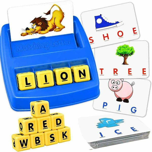 Kid Matching Letter Game Learning Board Toy-Excitell Toys