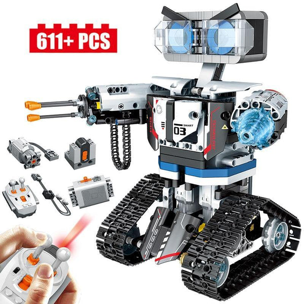 611pcs Creative Technic RC Robot Building Blocks For Kids-Excitell Toys