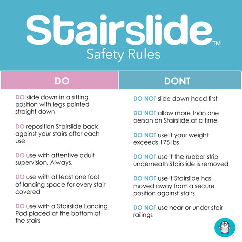 The Do's and Don'ts of Stairsliding