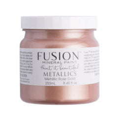 Fusion-Métallique rose or
