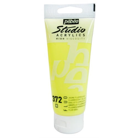 Studio acr 372 jaune fluo 100ml