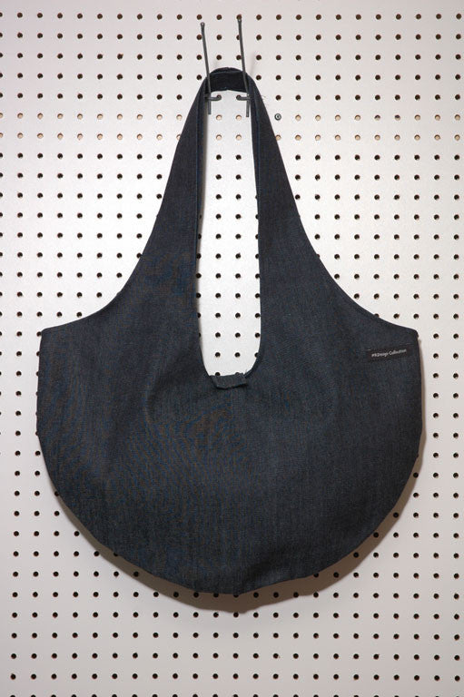 Sac ovale en denim