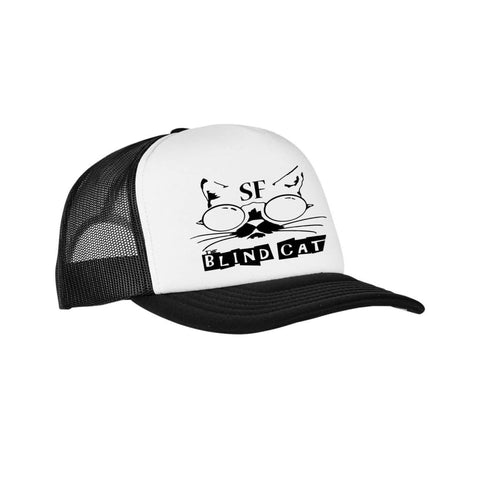 Blind Cat Foam Trucker Hat