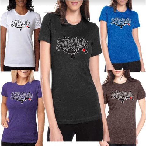 Lifestyle JiuJitsu Premium Next Level Ladies Tees