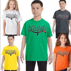 Lifestyle Jiujitsu Youth Tees