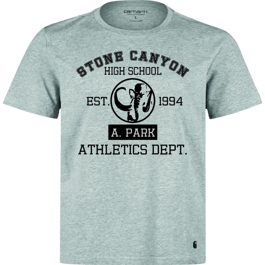 Official Adam Park Stone Canyon Athletic Dept. Tee Athletic Grey/black - T-Shirt