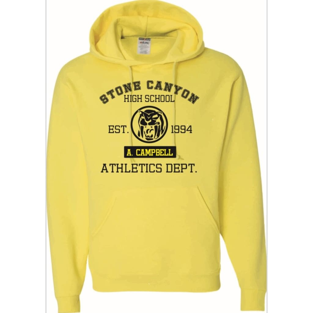 Official Aisha Campbell Stone Canyon Athletic Dept. Hoodie Yellow/black - Hoodie