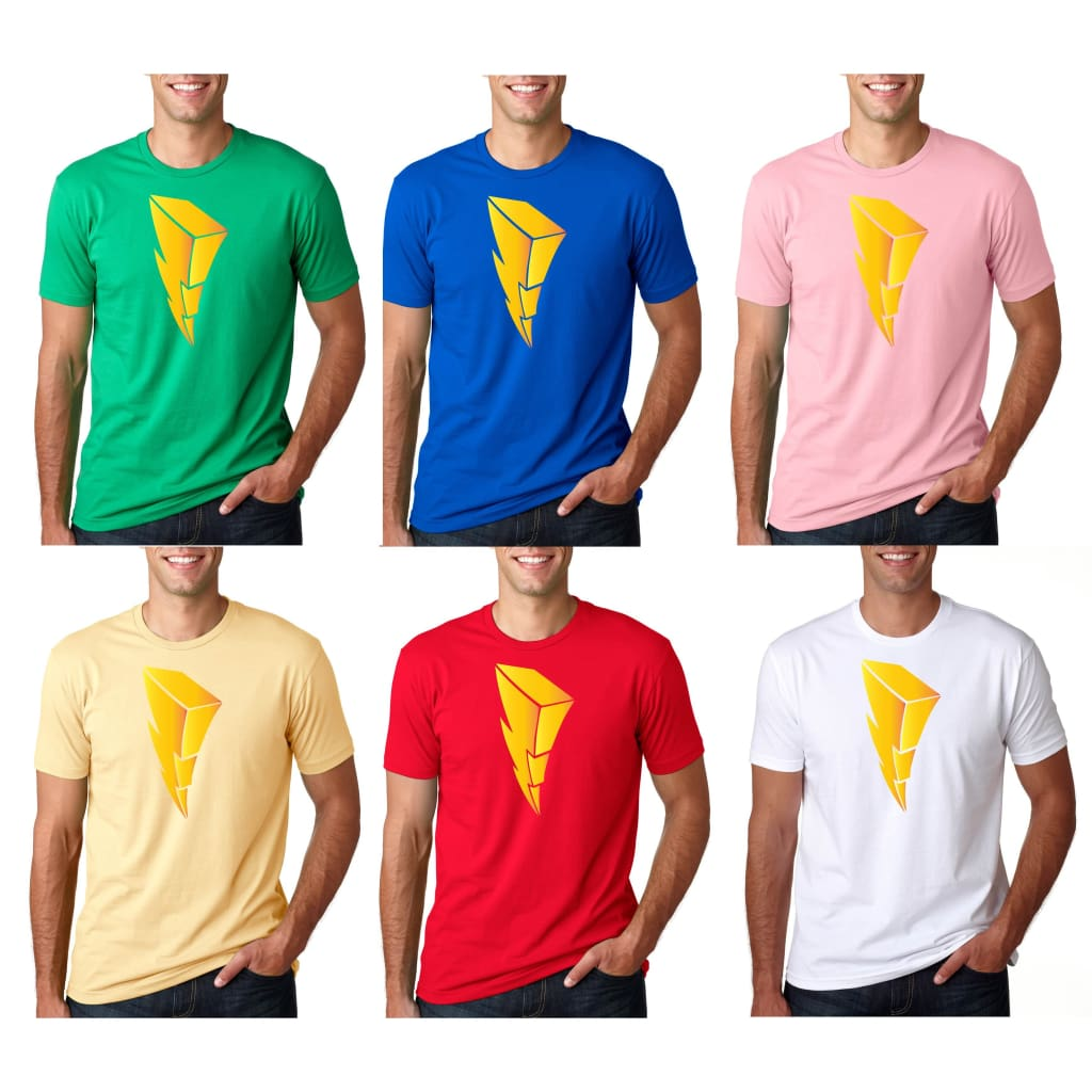 SUCIOWEAR OFFICIAL Gold Foiled Lightning Bolt Quality Unisex Tee Multiple Colors - T-shirt