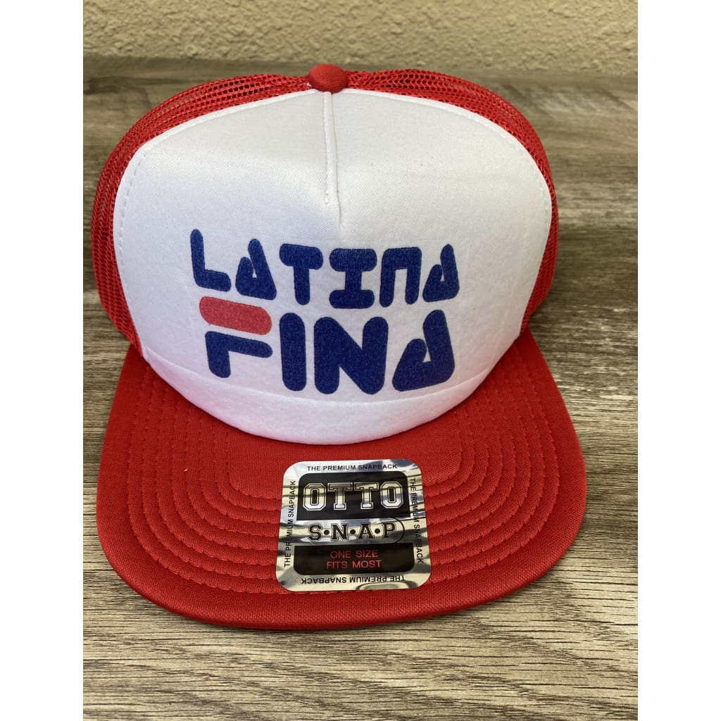 SUCIOWEAR OFFICIAL LATINA FINA OTTO TRUCKER FLAT BILL SNAPBACK HAT - hats