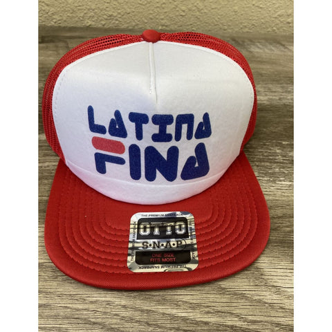 "SUCIOWEAR OFFICIAL ""LATINA FINA"" OTTO TRUCKER FLAT BILL SNAPBACK HAT"
