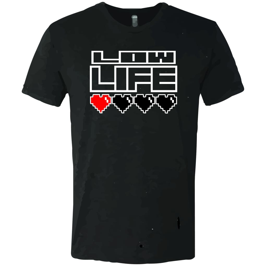 Suciowear Official Low Life Video Game Next Level Unisex Tee - T-Shirt