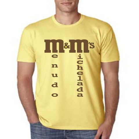SUCIOWEAR OFFICIAL (Menudo & Michelada's) Next Level Unisex Tee Banana/Vintage Brown