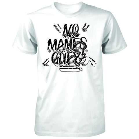 "SUCIOWEAR OFFICIAL ""NO MAMES GUEY"" Next Level Unisex Tee White"