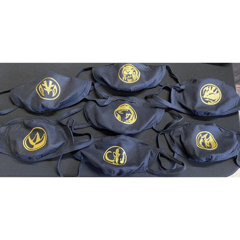 "SUCIOWEAR OFFICIAL ""Power Coins"" Metallic Gold/Black  Masks"