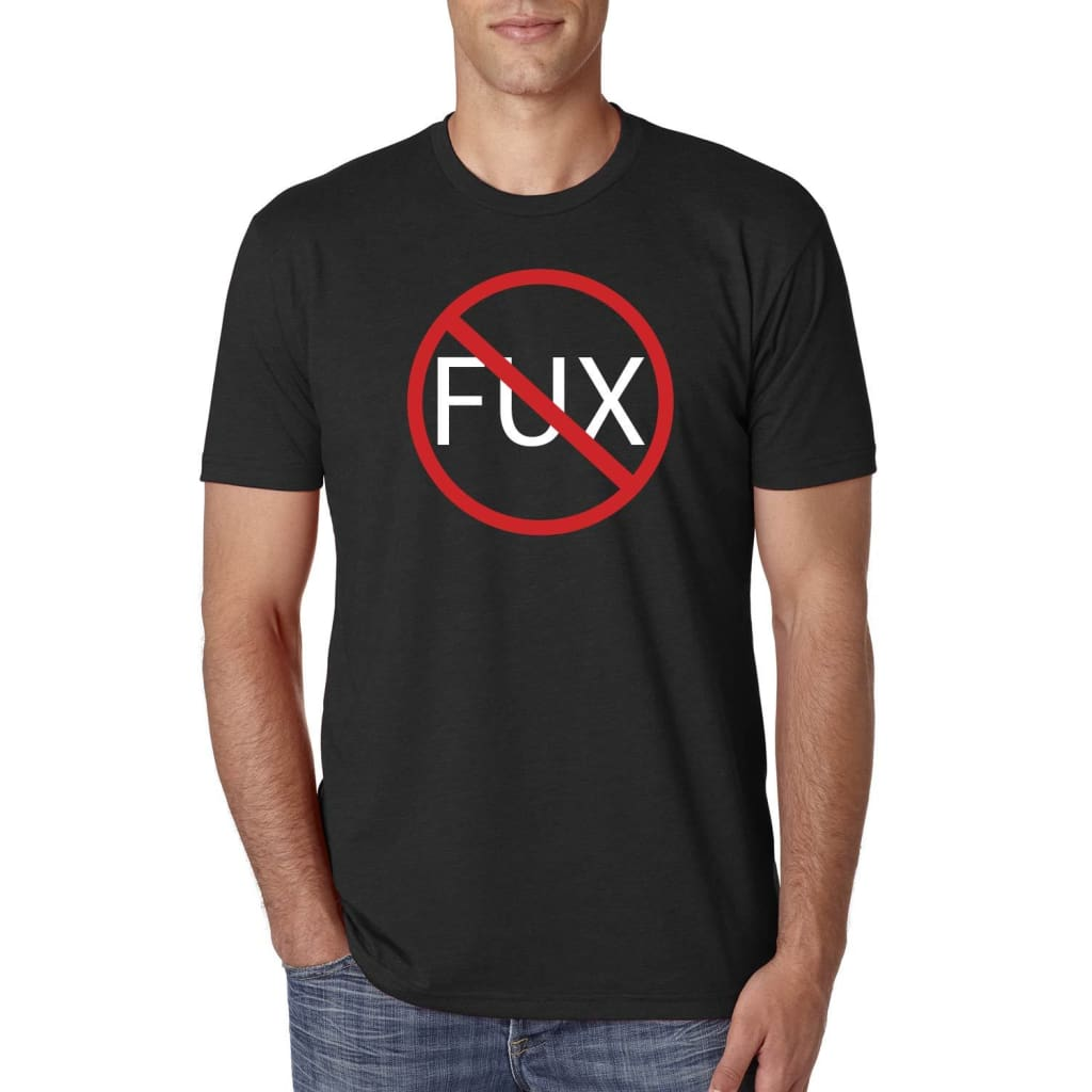 SUCIOWEAR OFFICIAL ZERO FUX Next Level Unisex Tee Black - T-shirt