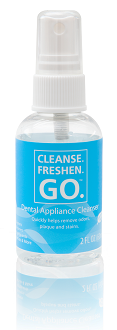 Cleanse.Freshen.Go™ Dental Appliance Cleansing Spray