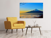 Lade das Bild in den Galerie-Viewer, Leinwandbild Imposanter Fujisan