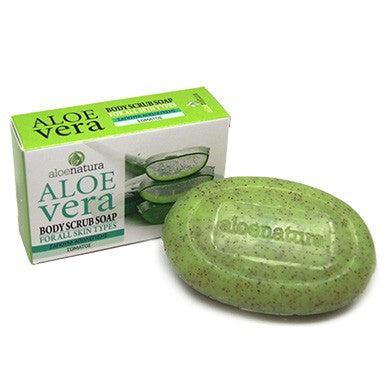 Aloe Vera Body Scrub Soap for all skin types