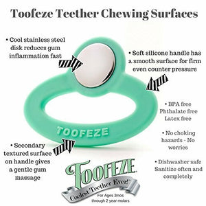 Toofeze Teether - Mint