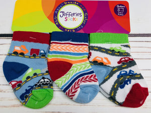 Vehicles Socks 3 Pack