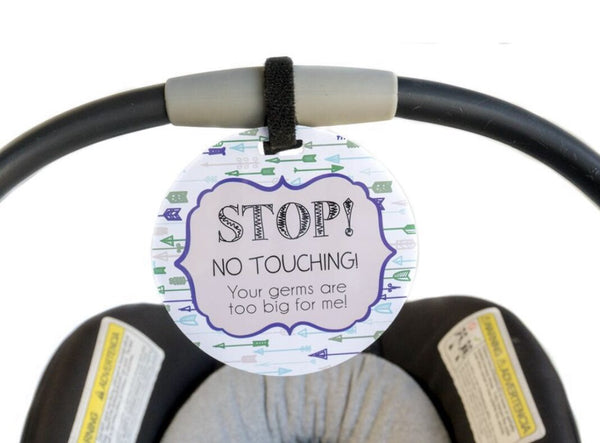 Stroller and Car Seat Tags