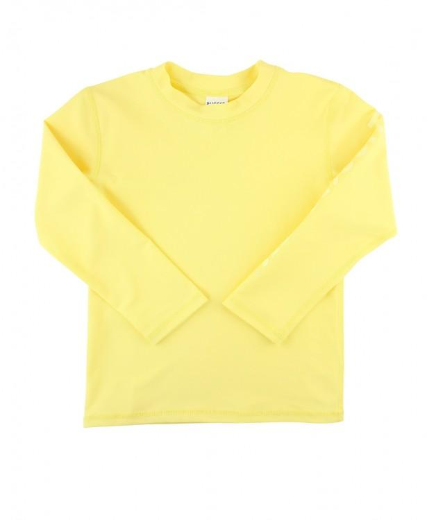Lemon Long Sleeve Rash Guard