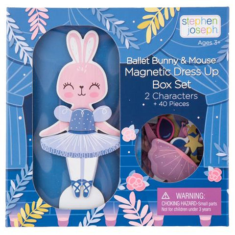 Magnetic Dress & Accessorize Play Set