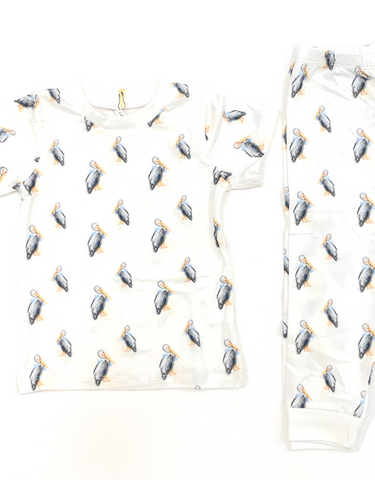 Pete the Pelican Two Piece Pajamas