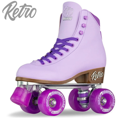 Crazy Skate - Retro Roller Skate - Purple