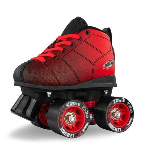 Crazy Skate - Rocket Red/Black