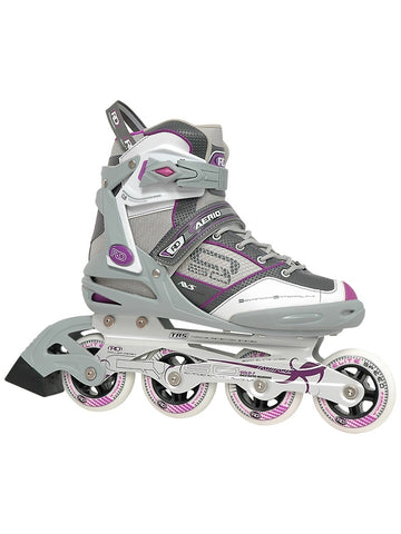 Inline Skates - Aerio Q60 - Grey/Purple