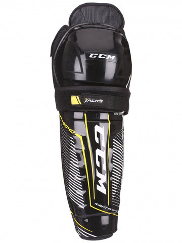 CCM Super Tacks 9040 JR Shin Guards - 13""