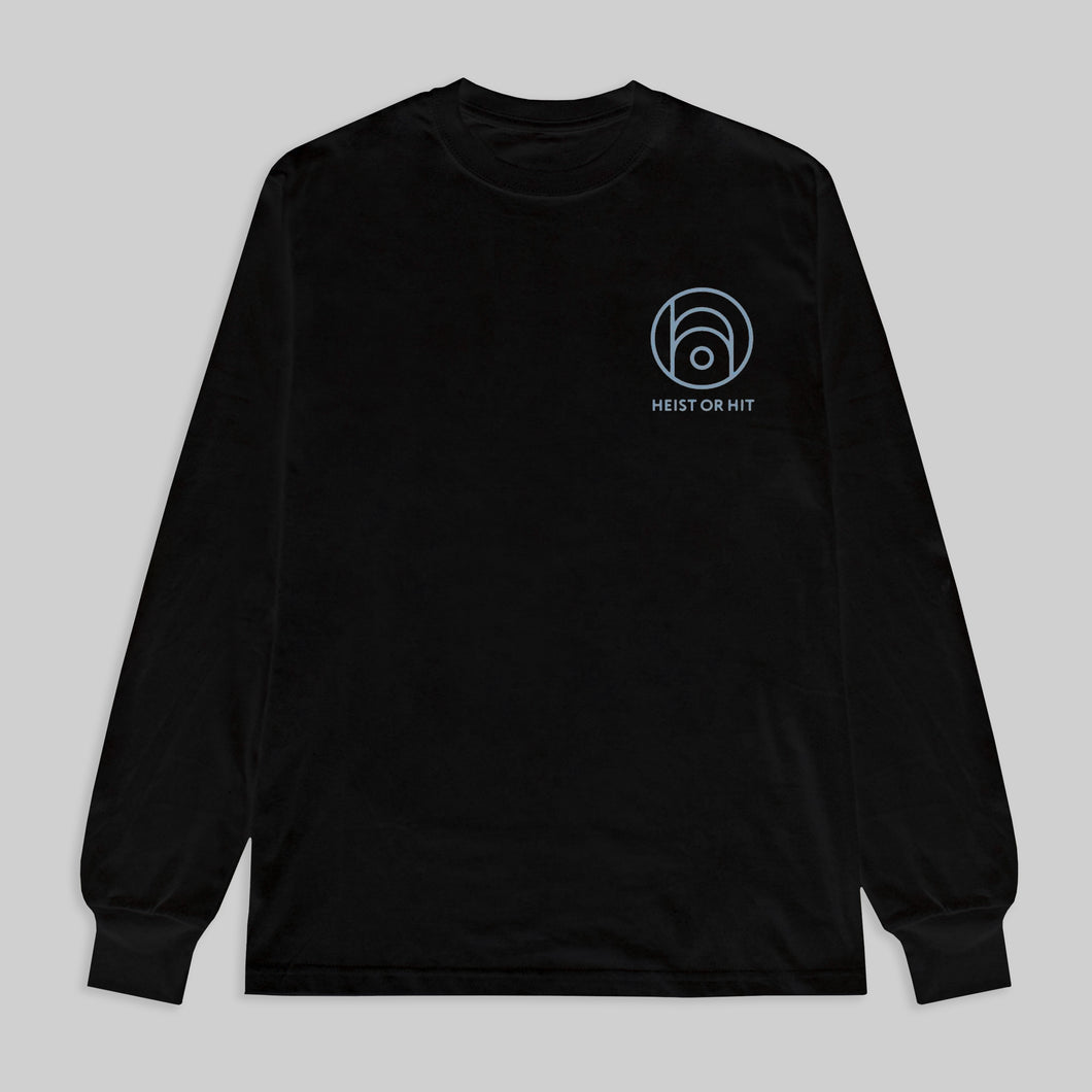 HEIST OR HIT - UNIFORM LONG SLEEVE (BLACK)