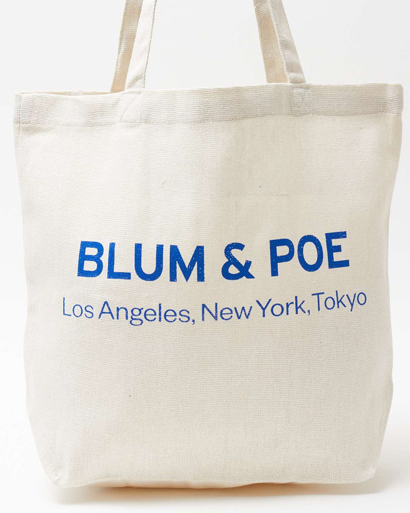 BLUM&POE RECYCLED TOTE (natural)