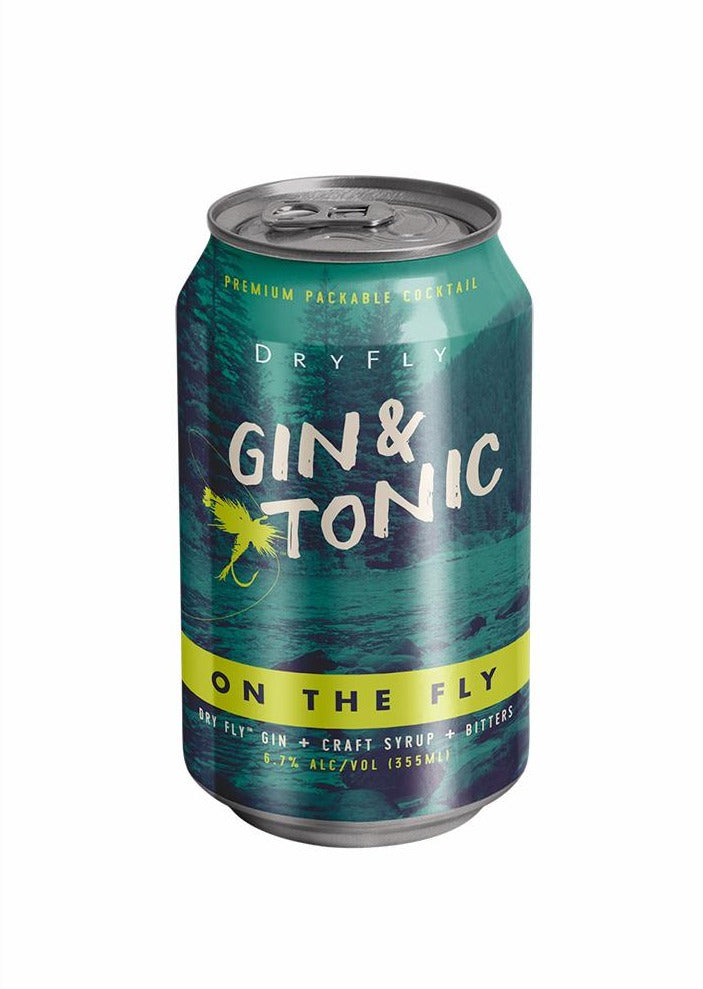 Gin & Tonic Canned Cocktail