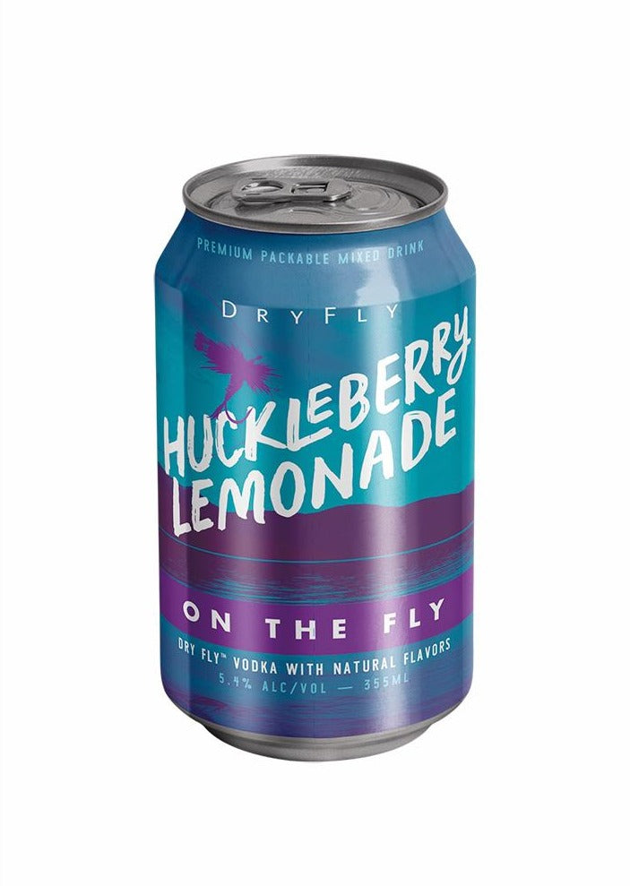 Huckleberry Lemonade Canned Cocktail