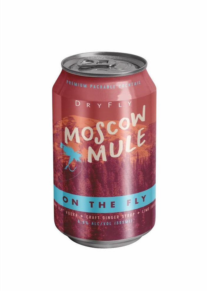 Moscow Mule Canned Cocktail
