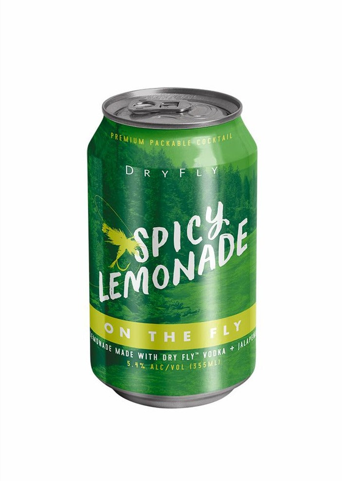 Spicy Lemonade Canned Cocktail