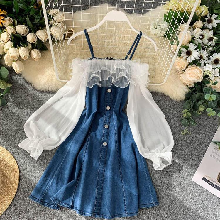 #5121 Denim Dress