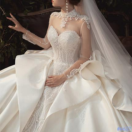 #6627 WEDDING DRESS