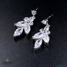 Load image into Gallery viewer, R33151 Earrings + Necklace (Two-piece )